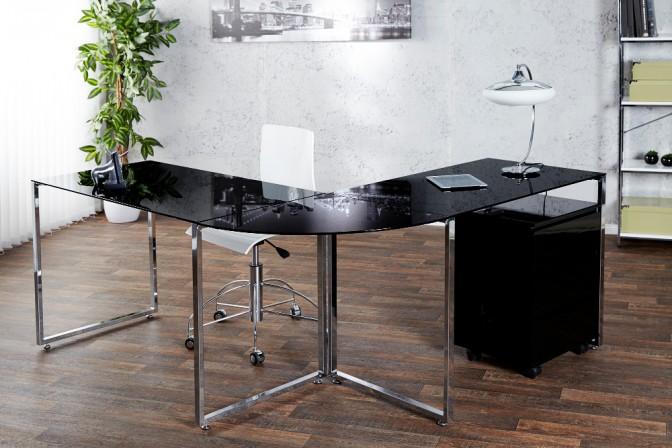 DIARI - skrivbord i svart