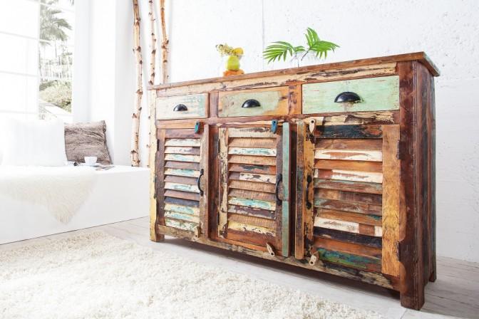 Sideboard Jakarta 125cm aus Recyclingholz