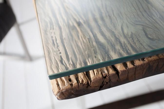 Glasplatte für Konsolen in 120cm