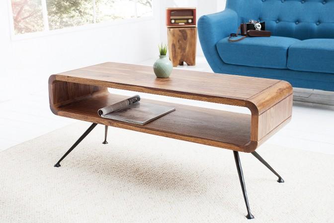 ALEXA - vintage soffbord i trä