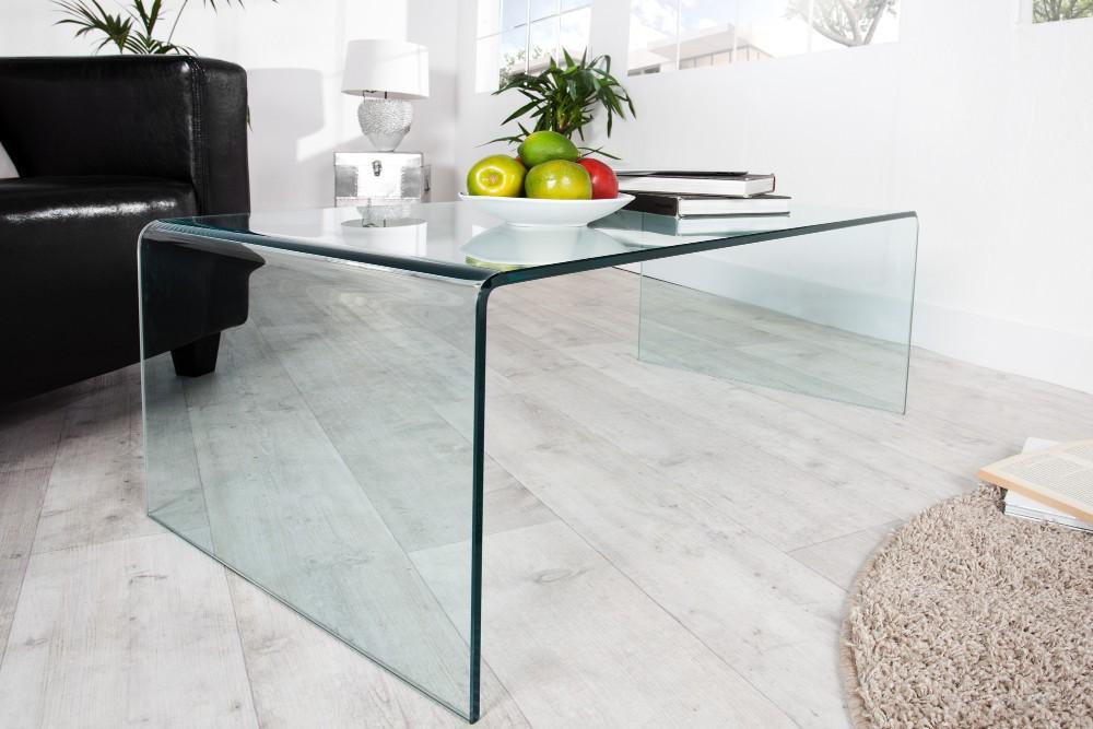 Opaque ett extravagant och f rstklassigt soffbord i glas for Couchtisch extravagant
