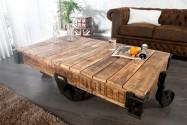 RENFE - soffbord i trä