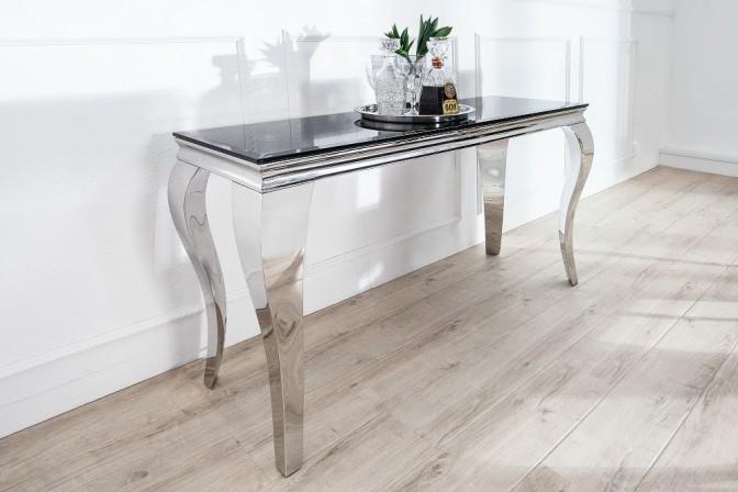 Konsole Modern Barock 140cm schwarz
